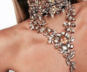 fashion, diamond, and necklace image