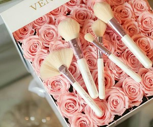 beauty, Brushes, and roses image
