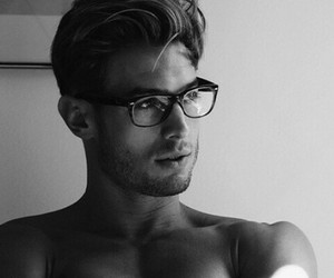 boy, glasses, and inspo image