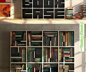 book, bookcase, and read image