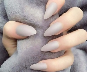 gray, ногти, and маникюр image