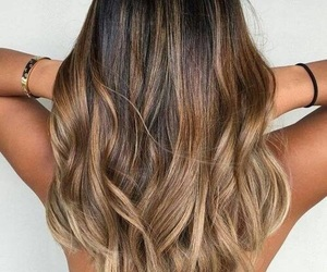 blond, hair, and ombre image