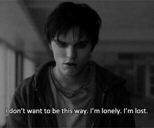 lost, lonely, and warm bodies image