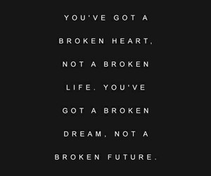 black and white, broken, and life image