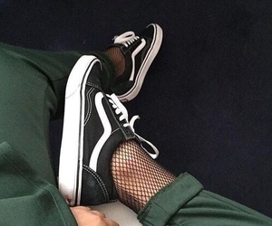 green, vans, and fashion image