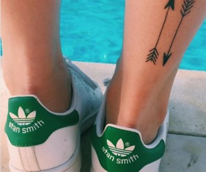 tattoo, adidas, and arrow image