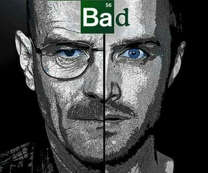 breaking bad, jesse pinkman, and walter white image