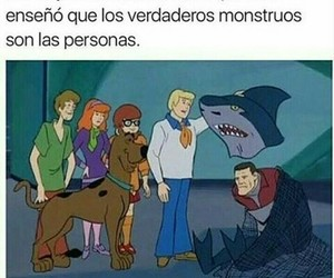 monstruos and scooby doo image