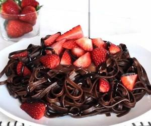 chocolate, food, and yum image