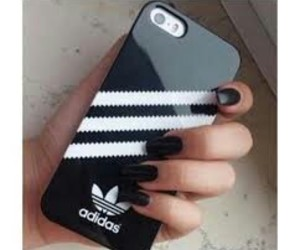 adidas, black, and iphone image