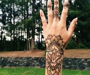 culture, hand, and henna image
