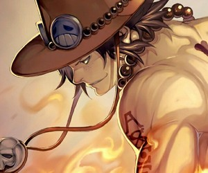 ace, one piece, and anime image