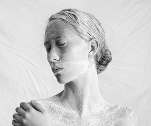 art, black and white, and conceptual image