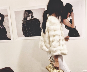fashion, fur, and girly image