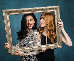 emeraude toubia, katherine mcnamara, and shadowhunters image