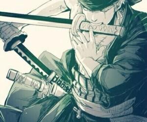 one piece, anime, and roronoa zoro image