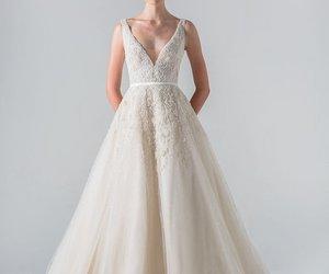 beautiful, gorgeous, and weeding dress image