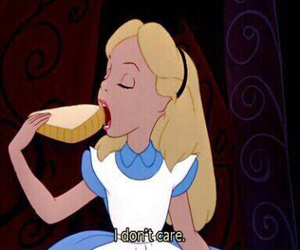 alice, alice in wonderland, and food image