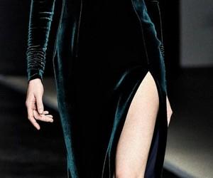 fashion, velvet, and dress image