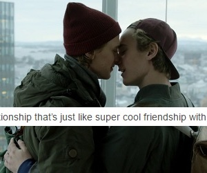 gay, skam, and noora image