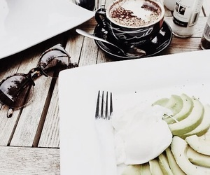 food, coffee, and tumblr image