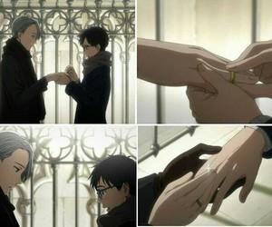 anime, love, and yuri on ice image