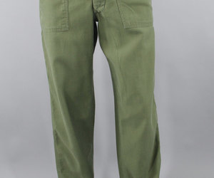 vintage military, military pants, and etsy image