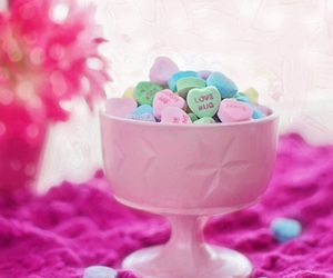candy, pink, and colors image