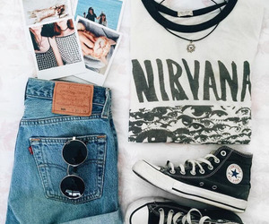 nirvana, pale, and alternative image