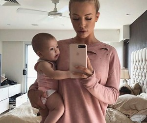 baby, family, and style image