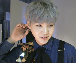 bts, low quality, and suga image