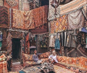 travel, carpet, and turkey image