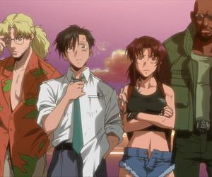anime, black lagoon, and revy image
