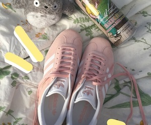 adidas, bambi, and flowers image