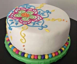 cake, colores, and cakes image