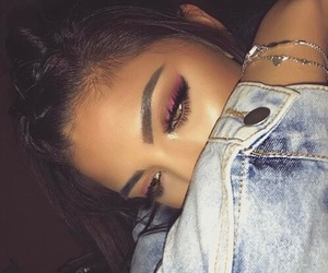 makeup, goals, and eyebrows image
