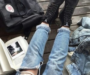 aesthetic, alternative, and jean image