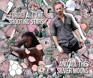 edit, twd, and michonne image