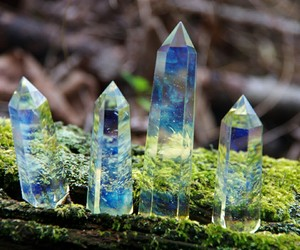 crystals and nature image