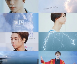 aesthetic, blue, and johnny image