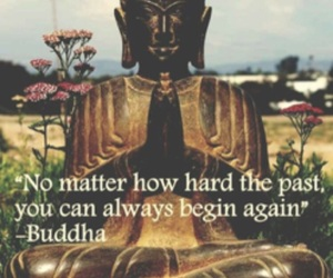 Buddha, quotes, and past image