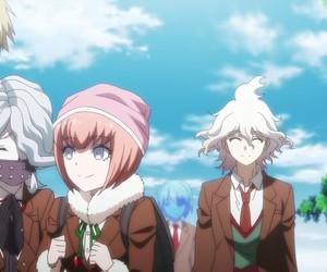 nagito komaeda, danganronpa, and ruruka andou image