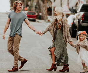 blonde, family, and perfect image