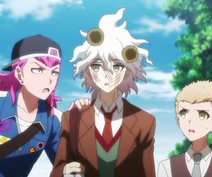 nagito komaeda, danganronpa, and sdr2.5 image