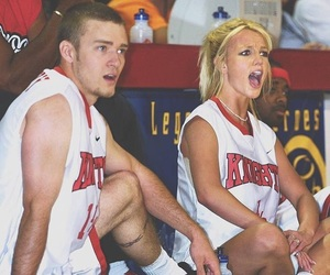britney spears, stinky, and justin timberlake image