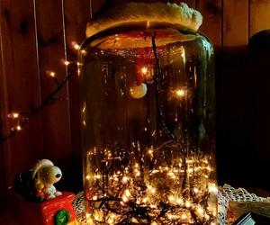 christmas, happy, and lights image