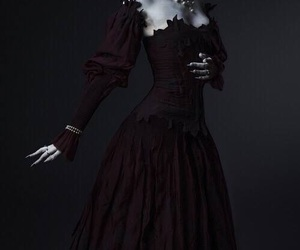 dress and dark image