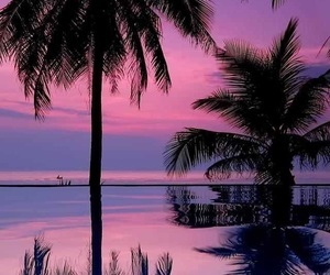 beach, beautiful, and colorful image