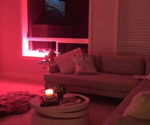 glow, snapchat, and living room image