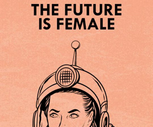 woman, feminism, and future image